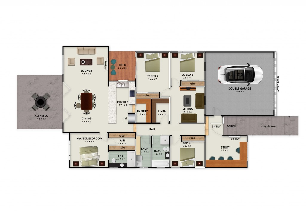 51 King George Street - Floor Plan small