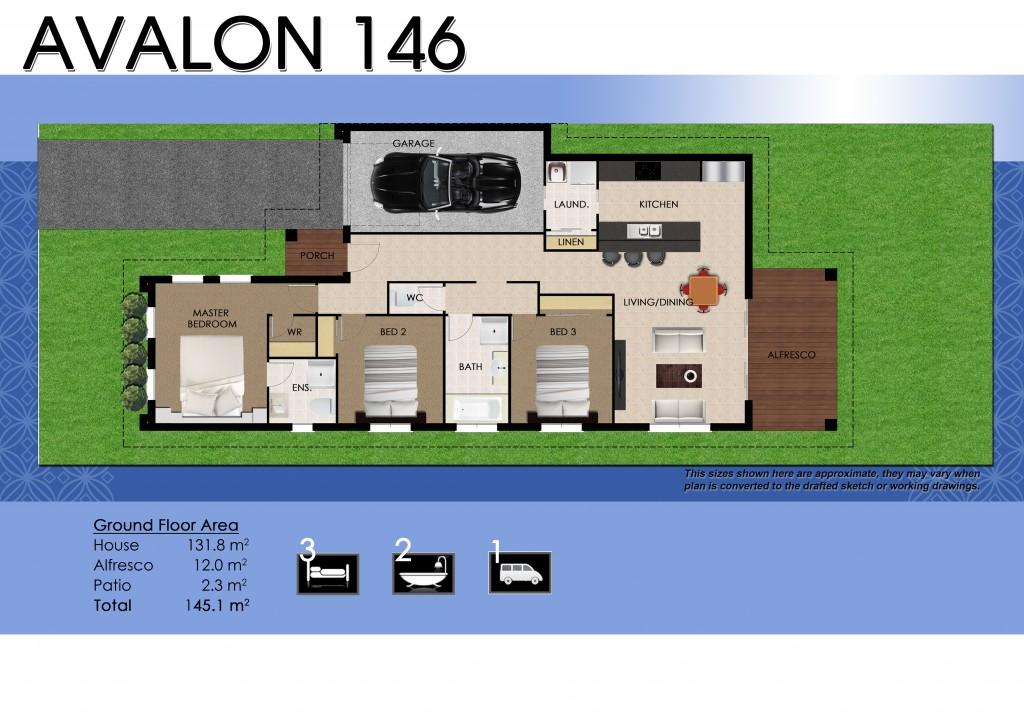 Avalon 146 Facade 11 Floor Plan Brochure